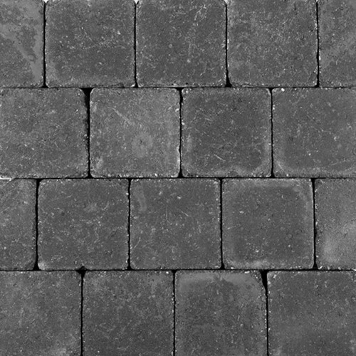 Pebblestones 15x15x6cm Kynance zwart