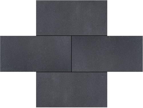 Fortress Tiles 30x60x6cm Geurnsey zwart