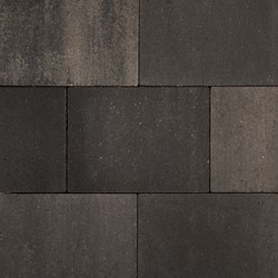Naturo 20x30x5cm grijs/zwart