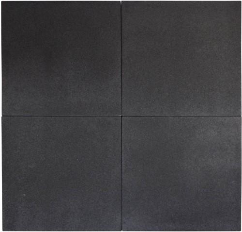 Geostretto Plus 80x80x6cm Milano zwart