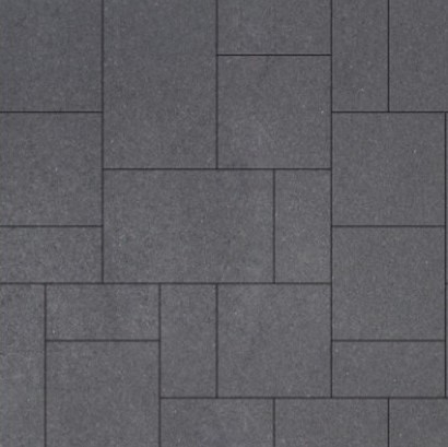 Geostretto Plus Tops Wildverband 2 Milano zwart (0.72m²)