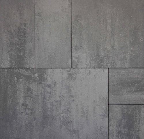 Geostretto Plus Tops Wildverband 2 Roma grijs/zwart (5,04m²)