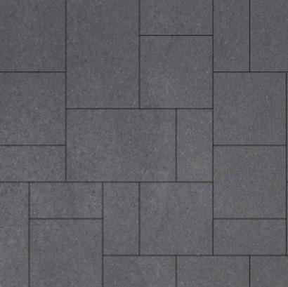Geostretto Plus Wildverband 2 Milano zwart (5,04m²)