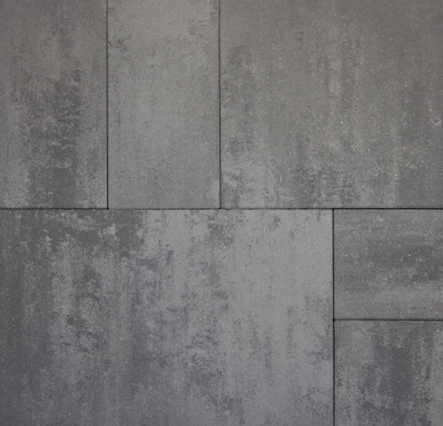 Geostretto Plus Wildverband 2 Roma grijs/zwart (0,72m²)
