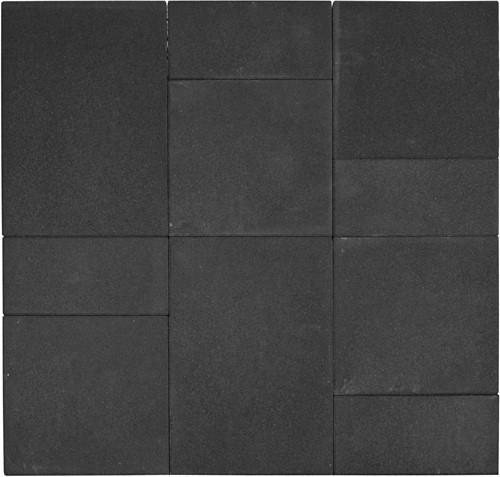 Geocolor 3.0 Tops Wildverband 2 Dusk Black zwart (0,72 m²)