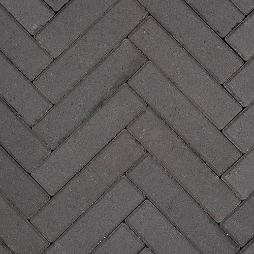 Sierbetonklinker Waalformaat 5x20x6cm zwart