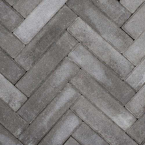 Sierbetonklinker Waalformaat 5x20x6cm antraciet