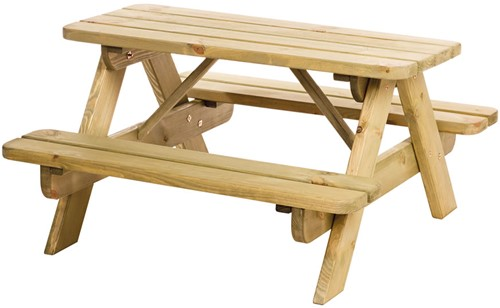 Hillhout junior picknicktafel Björn, bladmaat 90x38,5cm (W11018)