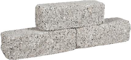 Rockline Walling 37,5x12,5x12,5cm granietgrijs
