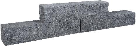 Rockline Walling 60x12,5x12,5cm antraciet