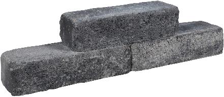 Cottage Walling 40x15x10cm grijs/zwart