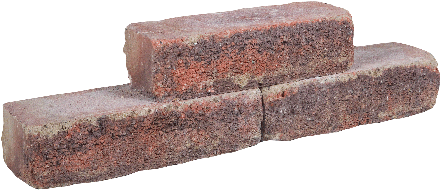 Cottage Walling 40x15x10cm paars/rood