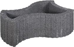Maxiflor 52x37/25x25cm zwart