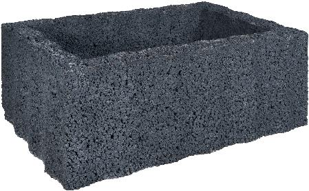 Ridgeflor Groot 60x40x25cm zwart