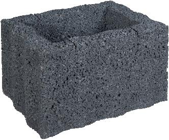 Ridgeflor Middel 40x30x25cm zwart