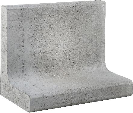 L-Element 50x30x40cm grijs