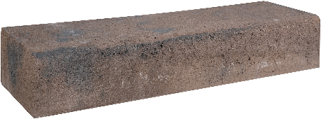 Retro betonbiels 60x20x12cm bruin