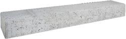 Betonbiels 12x20x100cm grijs