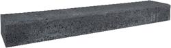 Betonbiels 12x20x120cm zwart
