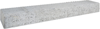 Betonbiels 12x20x120cm grijs