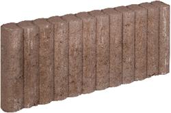 Mini Palissadeband 6x25x50cm bruin
