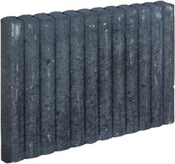 Mini Palissadeband 6x40x50cm zwart