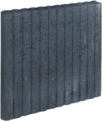 Mini Palissadeband 6x60x50cm zwart