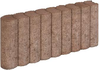 Rondo Palissadeband 8x25x50cm bruin