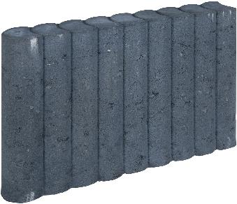 Rondo Palissadeband 8x35x50cm zwart