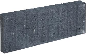 Mini Blokjesband 6x20x50cm zwart