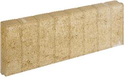 Mini Blokjesband 6x25x50cm geel
