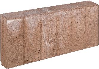 Blokjesband 8x25x50cm bruin