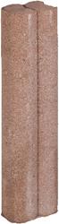 Mini Duo Palissaden Ø6x8,3x40cm bruin