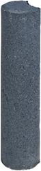 Palissaden paal Ø8x35cm zwart