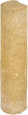 Palissaden Ø8x35cm geel