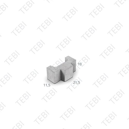 Graskei Type 1 - 21,5x11,5x10cm grijs