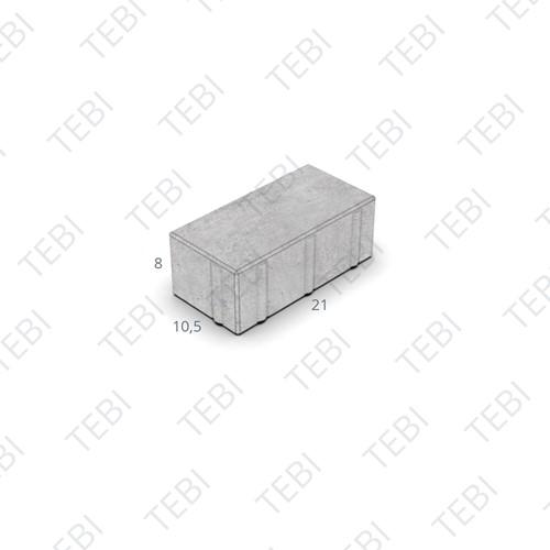 BKK KOMO 21x10,5x10cm grijs MP (44)