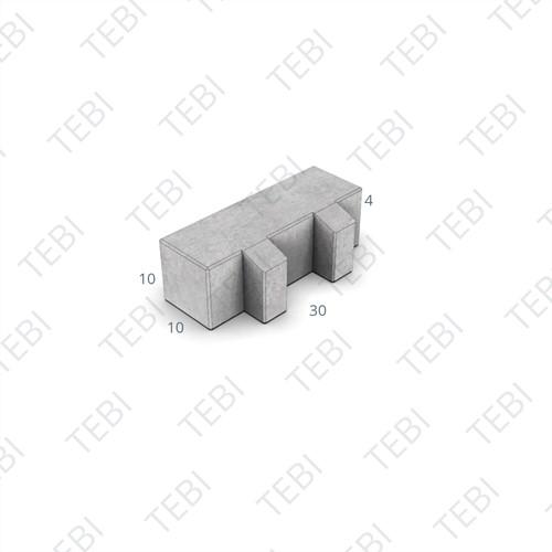 BKK 30x10x10cm Hydro Lineo zwart 40% open