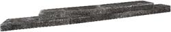 Abbey Walling 55x20x6,5cm zwart