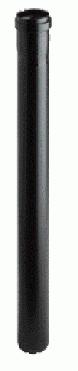 Afvoerbuis zwart DN110/480 mm
