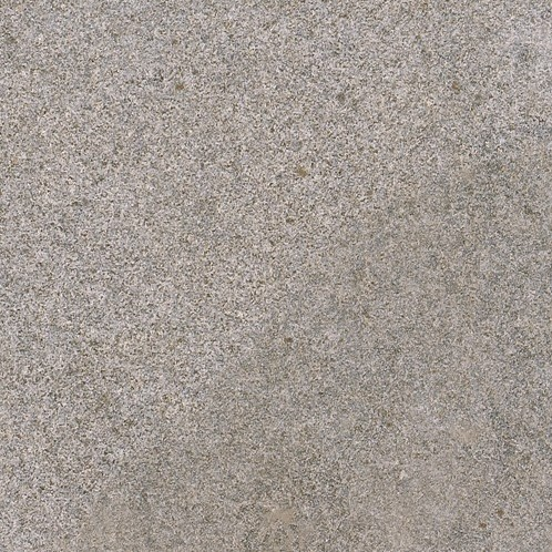 Graniet tegel Dark Grey Flamed donkergrijs 50x50x3cm