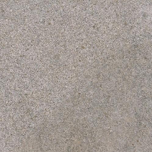 Graniet tegel Dark Grey Flamed donkergrijs 80x80x3cm