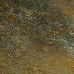 Gothic China Slate tegel Rustic zwart/roest 60x60x2/2,5cm