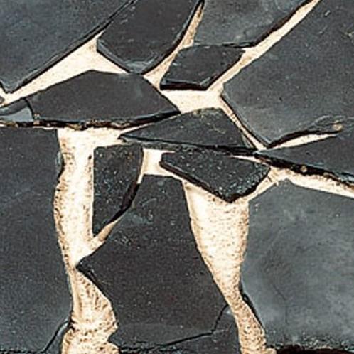 Flagstone Black Pearl zwart 80kgp/m²