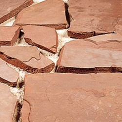 Flagstone Rode Weser Extra rood 70kgp/m²