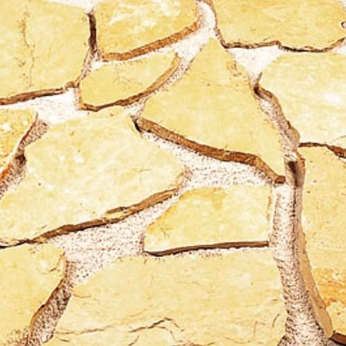 Flagstone Bourgogne geel 80kg p/m²