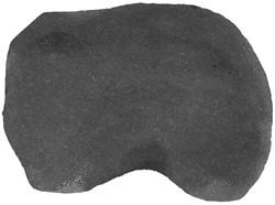 Flagstone staptegels Black Pearl zwart ±0,2m²