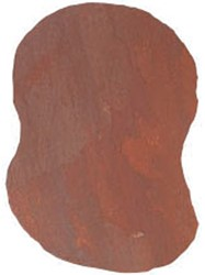 Flagstone staptegels Deccan Red rood ±0,2m²