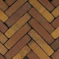 Art Bricks waalformaat 5x20x6,5cm Ruijsdael geel/bruin