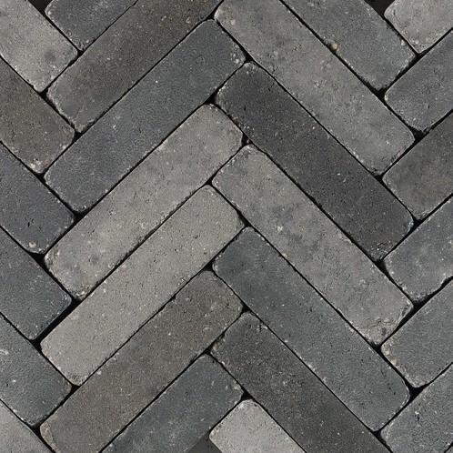 Retrostones 5x20x8cm Foney grijs/zwart